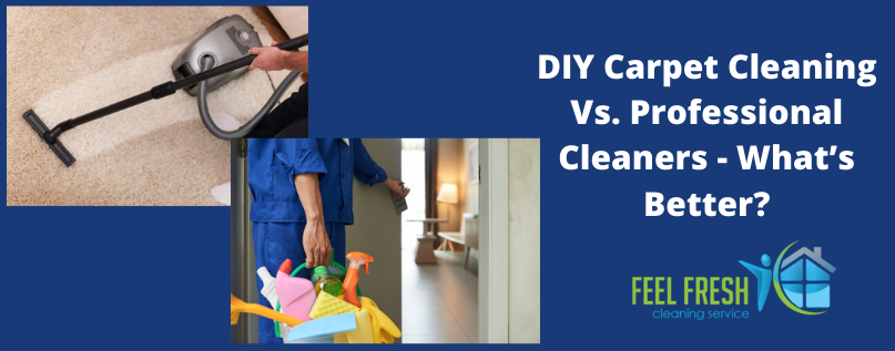DIY Carpet Cleaning Vs. Professional Cleaners