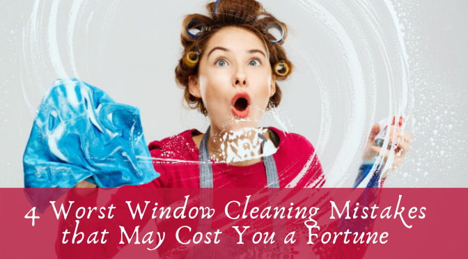 Window Cleaning Mistakes