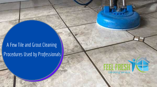 Tile and Grout Cleaning Procedures