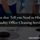 Quality Office Cleaning Service